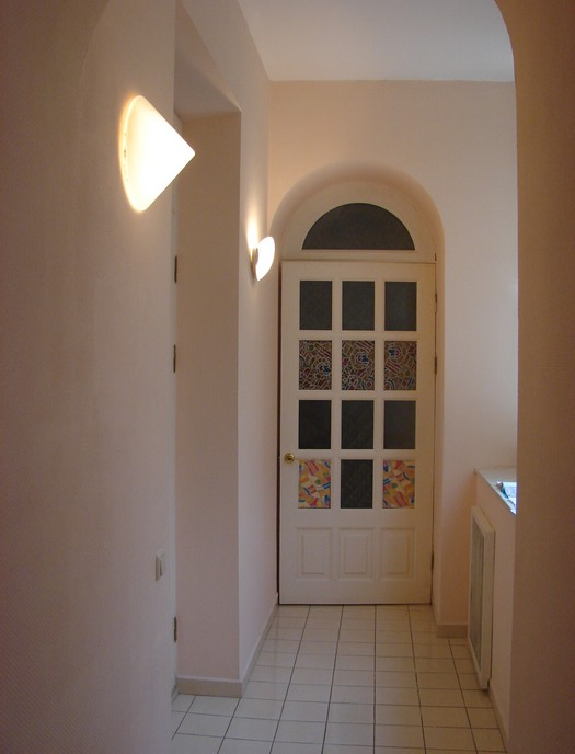 enterance to the kitchen, rent apartment in Kiev