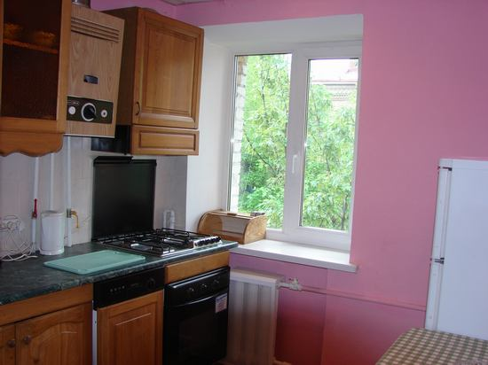 kitchen, rent apartment in kiev