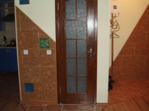 enter in bathroom, rent apartment in Zaporozhye