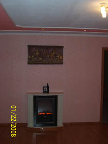living room, rent apartment in Zaporozhye